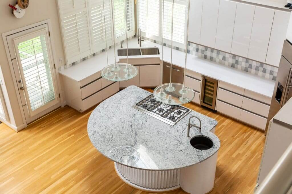 Quartz Countertops Installed by Precision Countertops & Tile