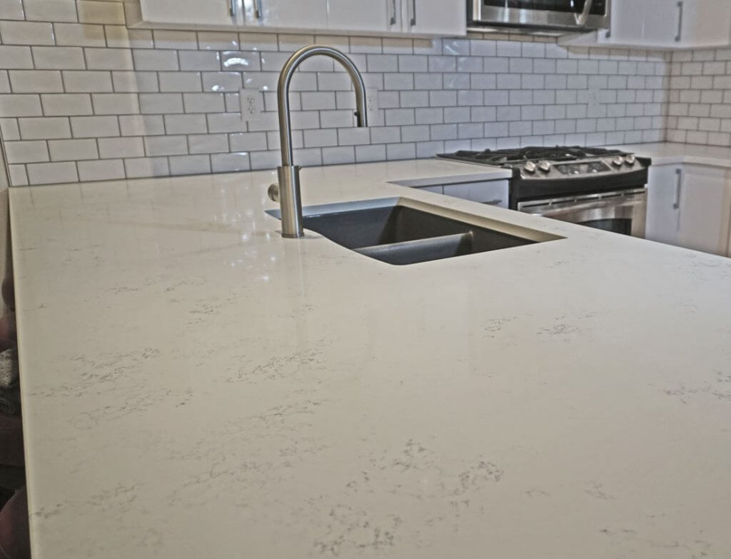 MSI Q-quartz Carrara Marmi countertop Kansas City, Missouri