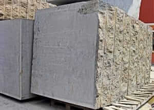 Granite Blocks before getting cut to make granite countertops