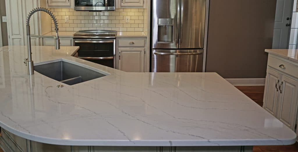 Cambria Quartz, Ella quartz countertop. Lee's Summit, Missouri